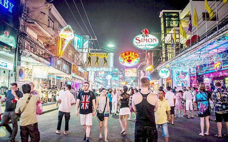 Волкин Стрит - Паттайа. Walking Street - Pattaya