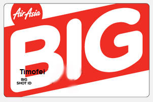 Карта Big Shot ID (Air Asia)